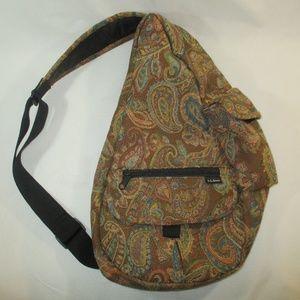 L.L.Bean Ameribag Tapestry Paisley Sling Shoulder